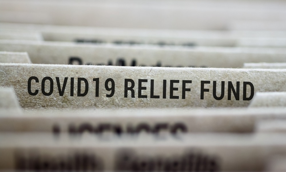 files that say covid19 relief fund